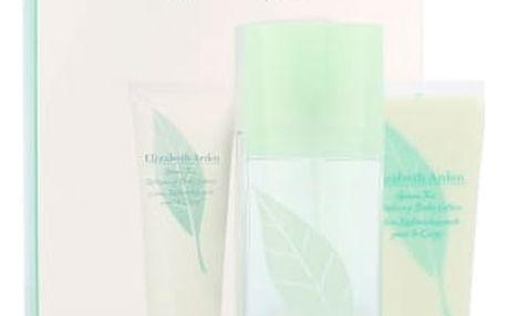 Elizabeth Arden Green Tea dárková kazeta pro ženy parfémovaná voda 100 ml + tělové mléko 100 ml