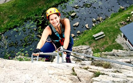 Polodenní kurz lezení Via Ferrata ve Žďáru