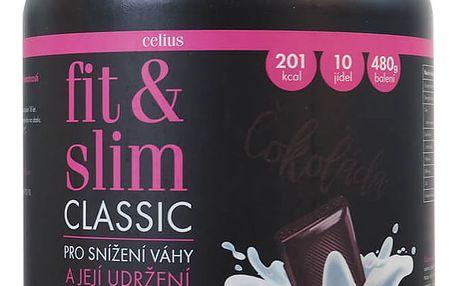 CELIUS Fit & Slim ultra Čokoláda 480 g