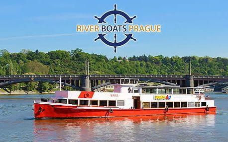 Vyhlídková plavba po Vltavě na 1 či 2 hod. s možností rautu na 1 či 2 hod. s možností rautu