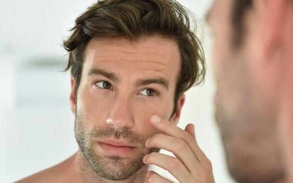 Kosmetické ošetření pleti pro muže