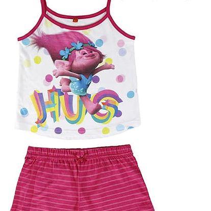 Letní Dívčí Pyžamo Trollové