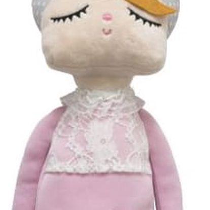 miniroom Králičí panenka Lille Kanin Pink - limitovaná edice, růžová barva, textil