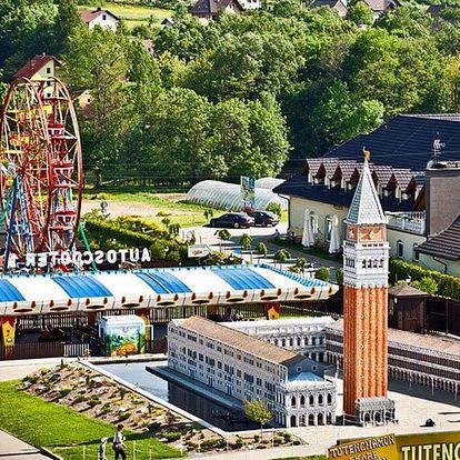 Rodinný pobyt v srdci zábavního parku Inwald