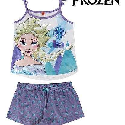 Letní Dívčí Pyžamo Ledové Království