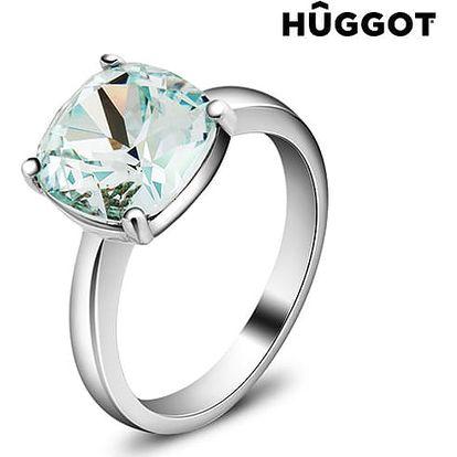 Prsten potažený rhodiem Pacific Hûggot vyrobený s křišťály Swarovski®