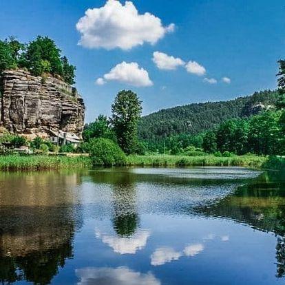 Máchovo jezero pro dva s polopenzí a masáží