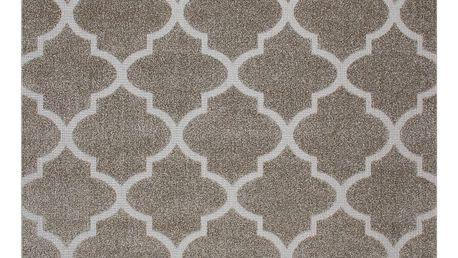 Béžový koberec Ali, 80x150cm
