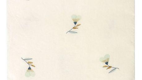 Maileg Papírové ubrousky Violet 20x11 cm, modrá barva, bílá barva, papír
