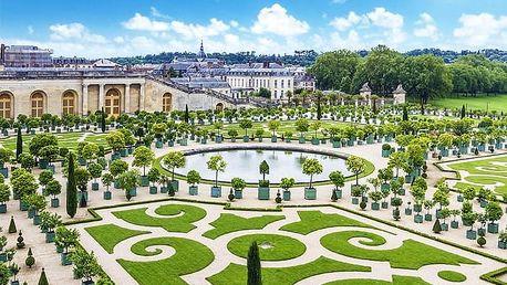 Romantická Paříž se zastávkou ve Versailles včetně ubytování se snídaní a vjezdu do Paříže