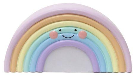 EEF lillemor Noční lampička Rainbow, multi barva, plast