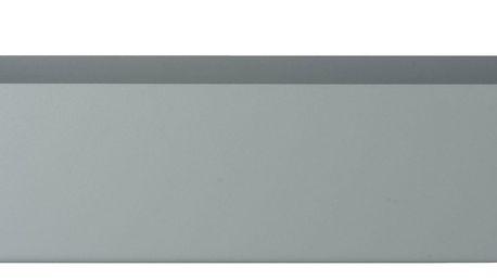 ferm LIVING Designový truhlík Dusty Blue, modrá barva, šedá barva, kov