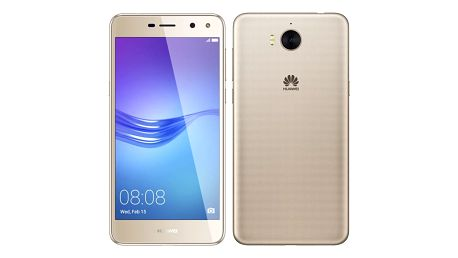 Mobilní telefon Huawei Y6 2017 Dual SIM zlatý + dárek (SP-Y617DSGOM)