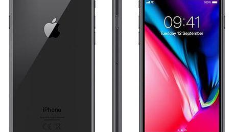 Mobilní telefon Apple iPhone 8 64 GB - Space Gray + dárek (MQ6G2CN/A)
