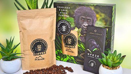 Dárková krabička Ndeze: káva a čokoláda z Ugandy