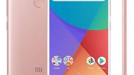 Xiaomi Mi A1 64 GB Dual SIM CZ LTE (PH3620) růžový