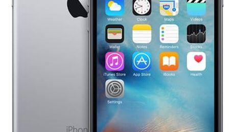 Mobilní telefon Apple iPhone 6s 32GB- Space Gray + dárek (MN0W2CN/A)