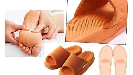 Akupresurní pomoc od bolesti! Pantofle masáž střed: detoxikace, metabolismus a únava