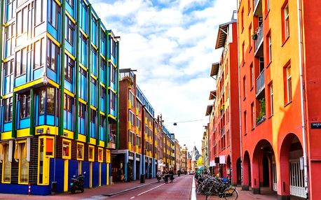 Holandsko: Delft, Gouda, Haarlem, Amsterdam, Zaanse Schans a Zaandvort s koupáním včetně ubytování se snídaní