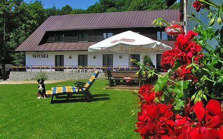 Krkonoše v hotelu v romantickém údolí se vstupem do wellness, polopenzí a půjčením kol – i přes léto