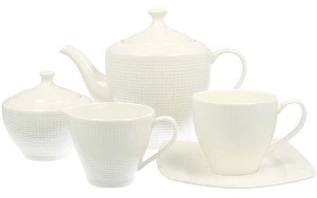 15dílný porcelánový kávový set Duo Gift Beta