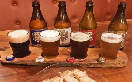 Degustace 4 druhů belgických klášterních piv