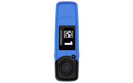 MP3 přehrávač Hyundai MP 366 GB4 FM BL modrý