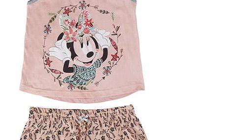 Letní Dívčí Pyžamo Minnie