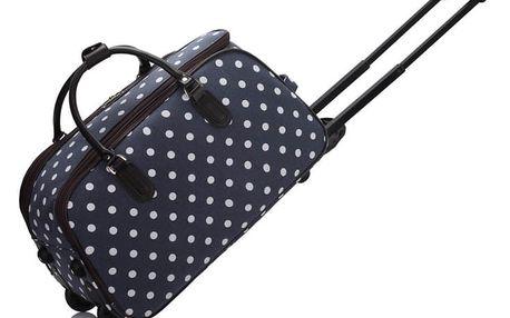 Dámská cestovní taška Esmme 308D námořnická modrá