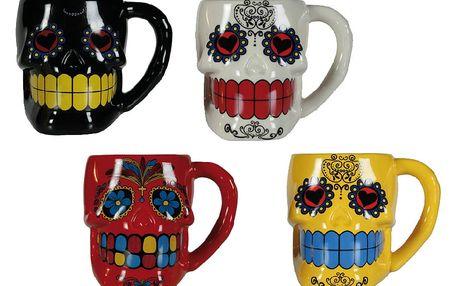 Mexická maska keramický hrnek