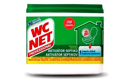 WC Net Aktivátor septiků 288g (16x18g)