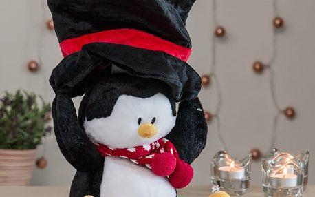 Vánoční Plyšová Hračka se Světly a Zvuky