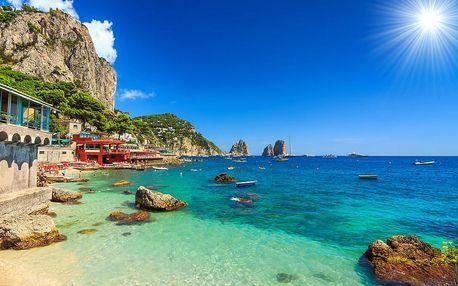 Objevujte krásy jižní Itálie: Řím, Neapol, Pompeje, Vesuv a pobřeží Amalfi se snídaní