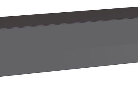 RTV stolek SWITCH RTV 1, grafit matná/grafit lesk
