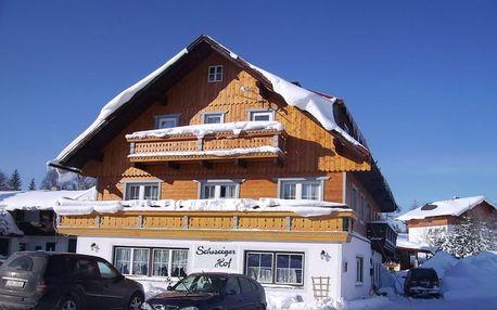 Rakousko - Schladming / Dachstein na 8 dní, snídaně s dopravou vlastní