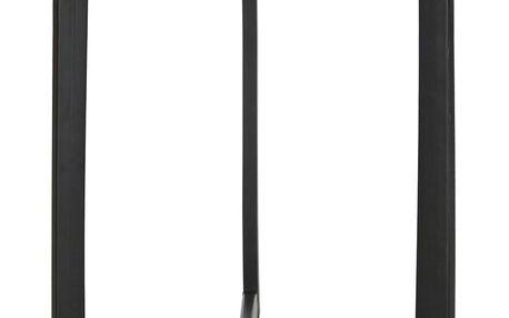 Černý odkládací stolek se světlou deskou Safavieh Alyssa