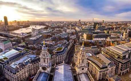 Londýn se zastávkou v Oxford a Stonehenge včetně ubytování se snídaní a trajektem