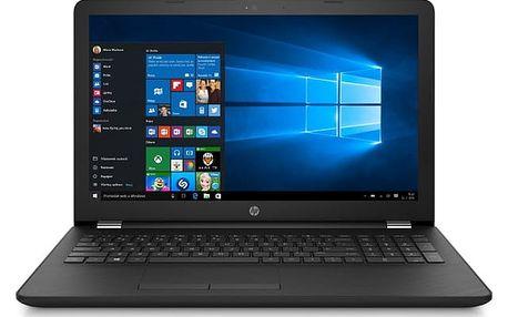 Notebook HP 15-bs101nc černý + dárky (2WB35EA#BCM)
