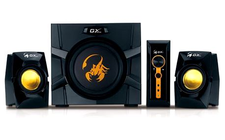 Reproduktory Genius GX Gaming SW-G2.1 3000 černá/žlutá (31731016100)