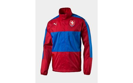 Bunda Puma Czech Republic Lightweight Rain Jacket c Červená