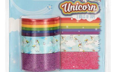Sada 3 washi pásek npw™ Unicorn Tapes