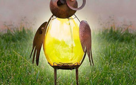 Dekorační Solární Lampa Pták