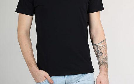 Tričko Vans Mn Left Chest Logo T Black Černá