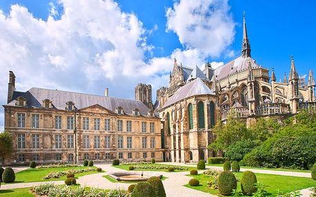 Kouzelná Paříž, Remeš a Versailles na 2 noci s ubytováním v hotelu, včetně snídaně a vjezdu do Paříže