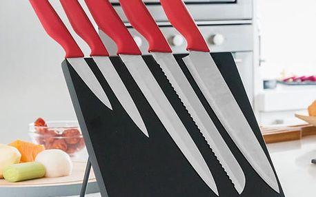 Nože s Magnetickým Stojanem Bravissima Kitchen 6 kusů