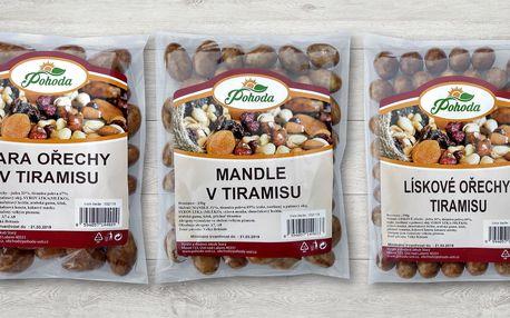 Ořechy a mandle od Pohody zalité tiramisu polevou