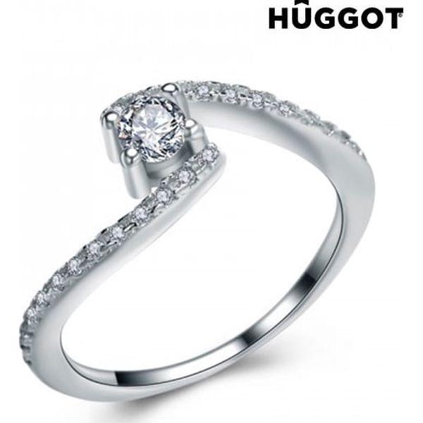 Prsten ze sterlingového stříbra 925 se zirkony Marilyn Hûggot