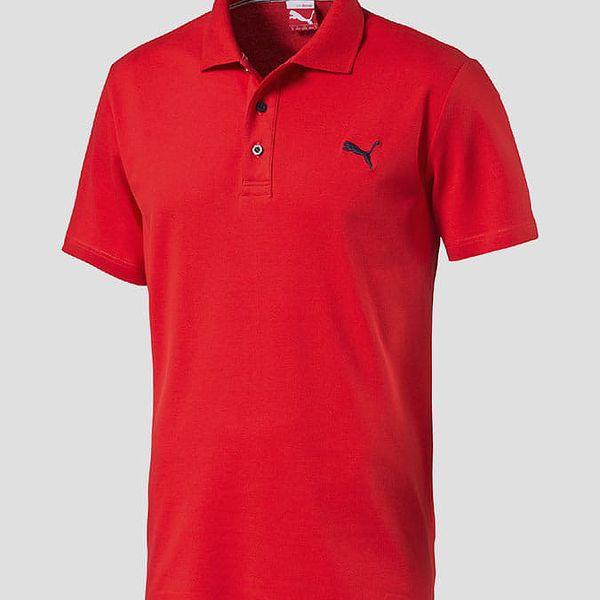 Tričko Puma ESS Polo red Červená