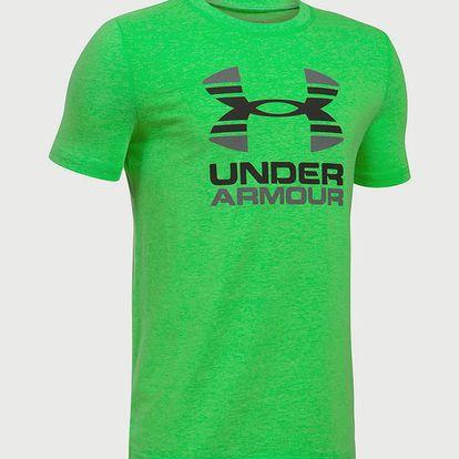 Tričko Under Armour Two Tone Logo SS T Oranžová