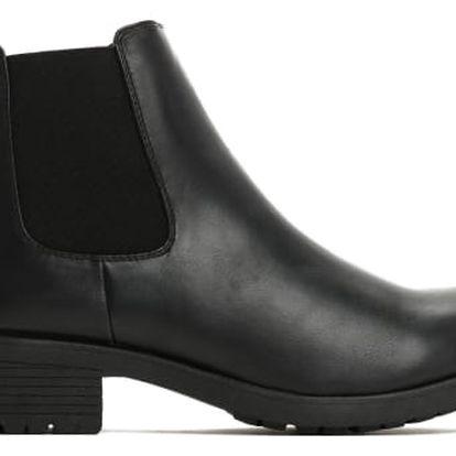 Dámské černé kotníkové boty Larra 6179